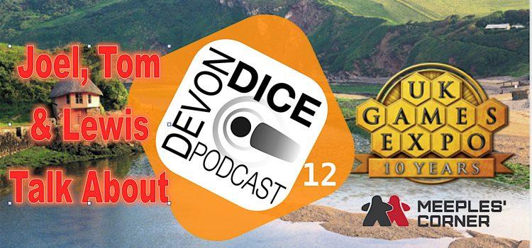 12. Devon Dice go to UK Games Expo 2016