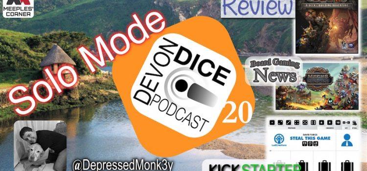 20. Devon Dice Podcast, Solo Mode