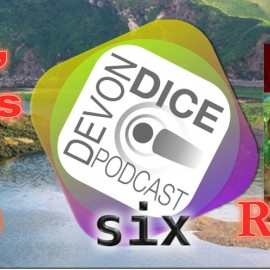 6. Devon Dice podcast, The Castles of Burgundy review
