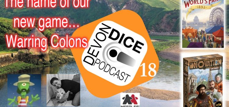 18. Devon Dice Podcast – Warring colons