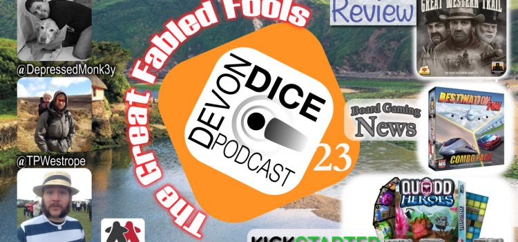 23. Devon Dice, The Great Fable Fool's Podcast