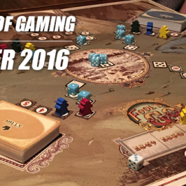 A month of games: November 2016