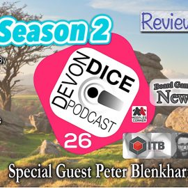 26 Devon Dice podcast season 2 Sub Terra, sub DOOM and sub monsters