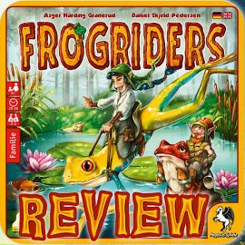 Frogriders Review – By Joel, No Frogs Were Kissed In The Making Of This Review