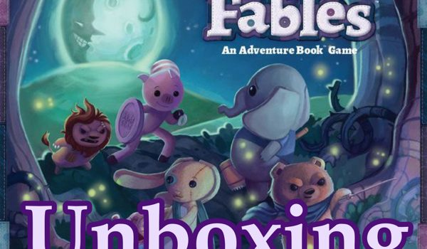 Unboxing Stuffed Fables by Joel and Isaac
