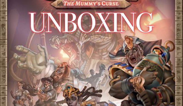 Unboxing Clank! The Mummy's Curse by Joel