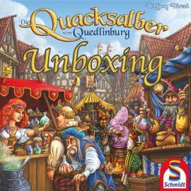Unboxing Die Quacksalber von Quedlinburg by Joel Wright