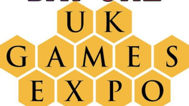 Day one of the UKGE 2018 blog by Joel Wright