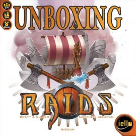 Raids Unboxing from IELLO Games by Joel Wright