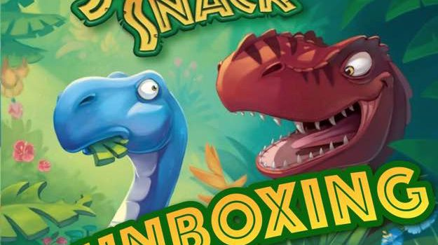 Unboxing Jurassic Snack By Isaac Wright