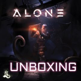 Unboxing ALONE Kickstarter Edition By Joel Wright