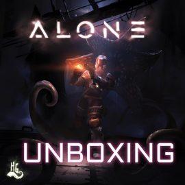 Unboxing ALONE Kickstarter Edition By Joel Wright
