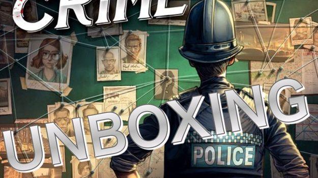 Unboxing Chronicles Of Crime Kickstarter ed By Joel