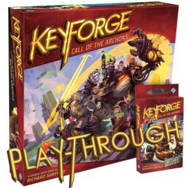 Tabletop Gaming Live Keyforge Play-through and Review By Joel Wright
