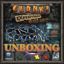 Unboxing CLANK! Gold and Silk Expansion By Joel Wright