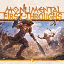 Rules and first Thoughts of Monumental @ Tabletop Gaming Live Show