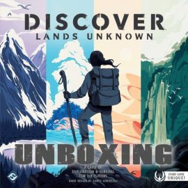 Unboxing Discovery: Lands Unknown (SMALL SPOILERS) By Joel Wright