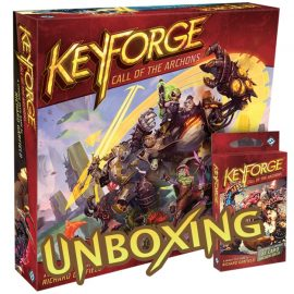 Unboxing Keyforge Starter Set By Joel Wright