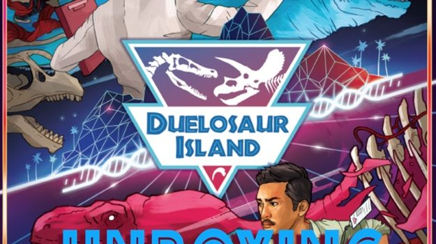 Unboxing Duelosaur Island Xtreme Edition (Kickstarter), By Joel