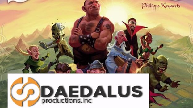 Making and Review of Deadalus Insert for Small World by Joel