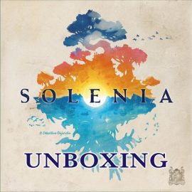 Unboxing Solenia from Pearl Games by Joel Wright