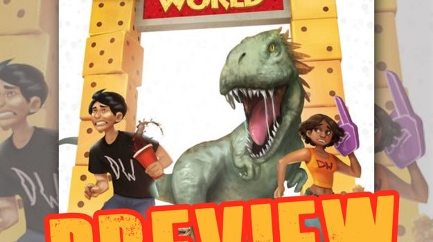 Welcome to… Dino World preview and play through by Joel