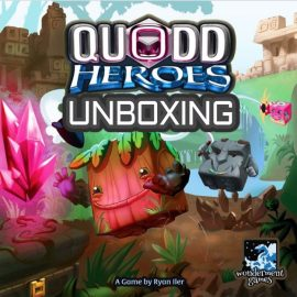 Unboxing Quodd Heroes Kickstarter By Joel