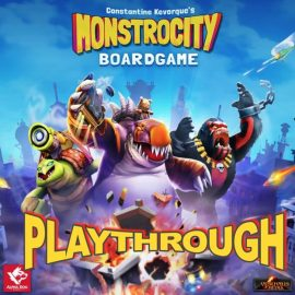 Monstrocity: Board Game Play Through at UKGE with Joel and Lewis