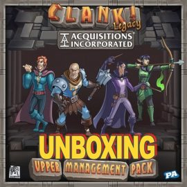 Unboxing Clank! Upper Management​ Pack, Expansion Pack By Joel