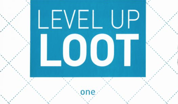 Unboxing Level Up Loot One promo box from Renegade Games Studios