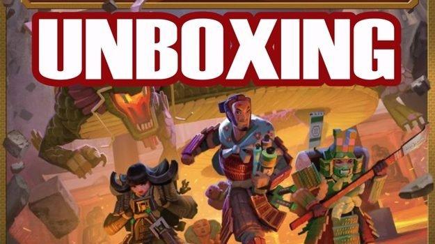 Unboxing Fuji Koro: Deluxe Kickstarter Deluxe Edition By Joel