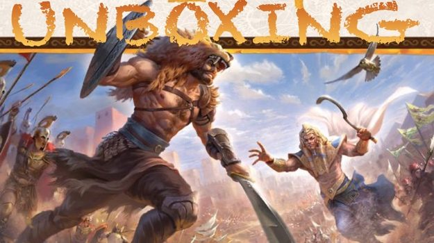 Unboxing Kickstarter Monumental and the Lost Kingdoms Expansion By Joel
