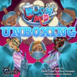 Unboxing Rush MD Kickstarter Ed By Joel Wright