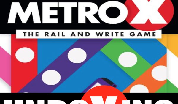 Unboxing Metro X Board Game from Gamewright By Joel Wright