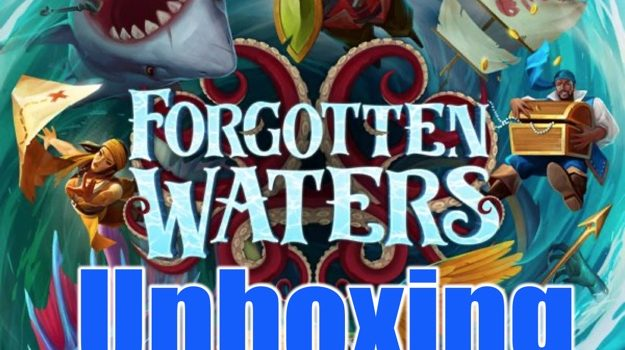 Unboxing Forgotten Waters By Joel Wright