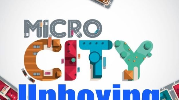 Unboxing Micro City by Joel Wright
